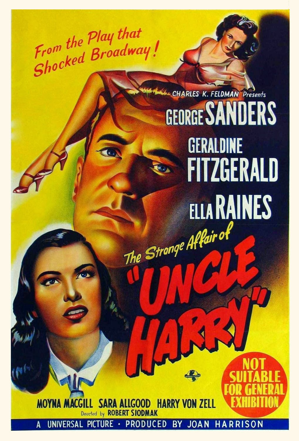 image The Strange Affair of Uncle Harry Watch Full Movie Free Online