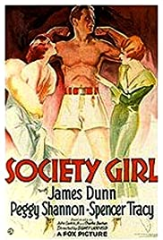 Society Girl Poster