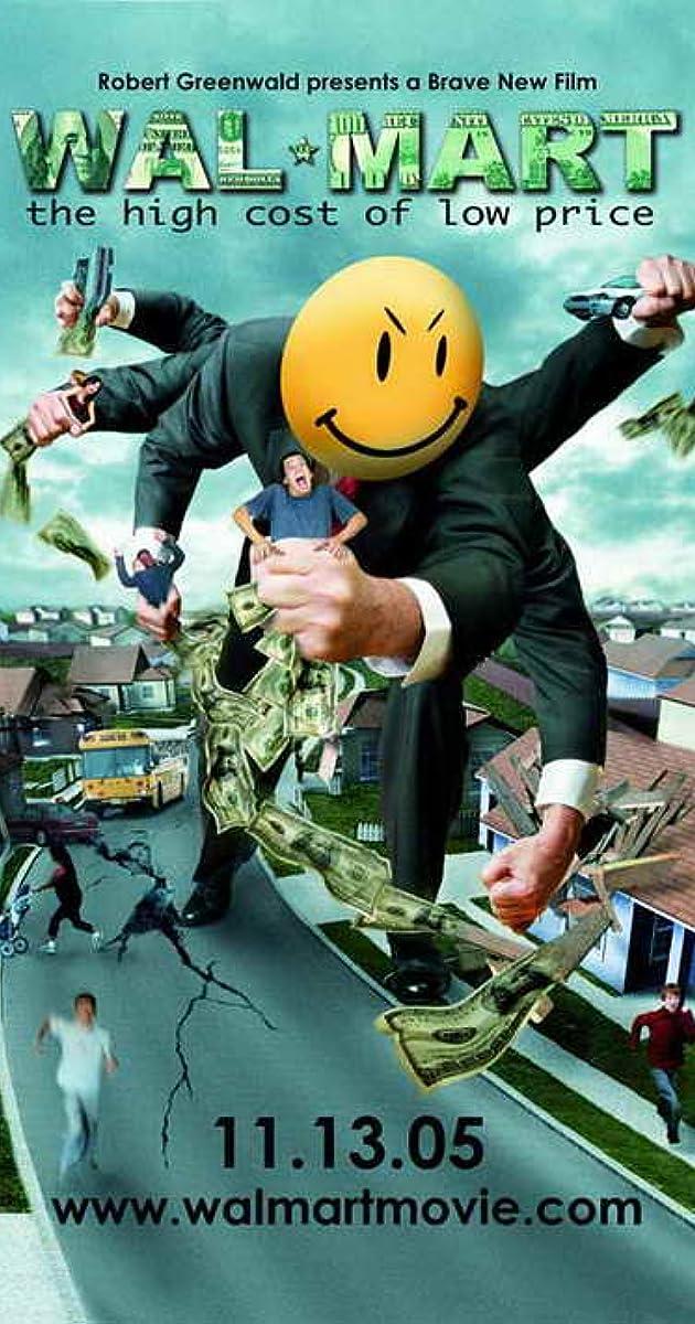 WalMart The High Cost Of Low Price IMDb - Us map poster walmart