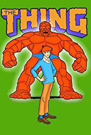 Fred and Barney Meet the Thing Poster
