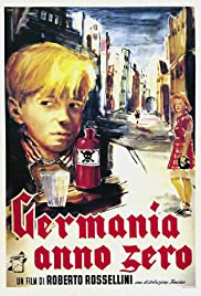 Germany Year Zero (1948) Poster - Movie Forum, Cast, Reviews