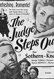 The Judge Steps Out Poster