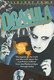 Vincent Price's Dracula Poster