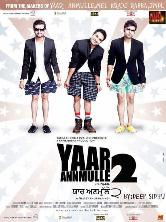 Yaar Anmulle 2 2017 Full Punjabi Movie 480p HDRip full movie watch online freee download at movies365.ws