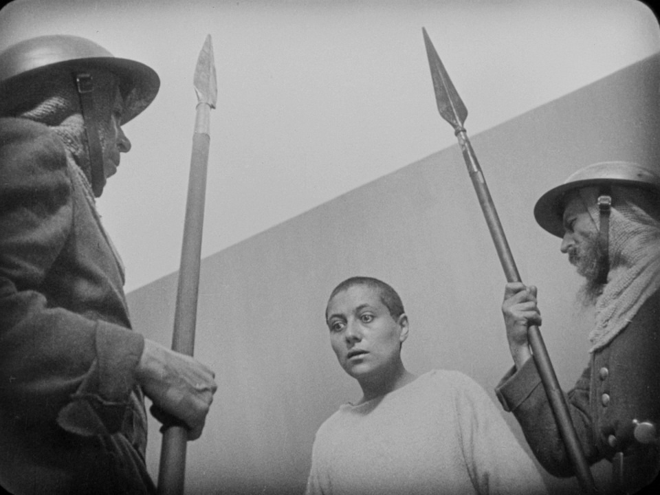 Maria Falconetti in La passion de Jeanne d'Arc (1928)