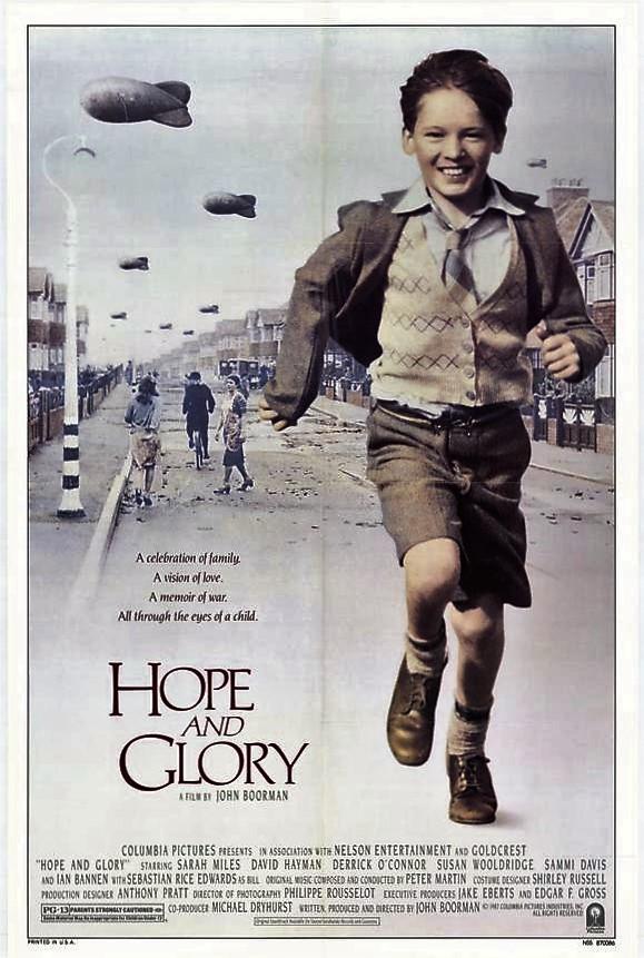 Hope and Glory 1987 1080p BRRip x264 AAC ESub-Hon3y