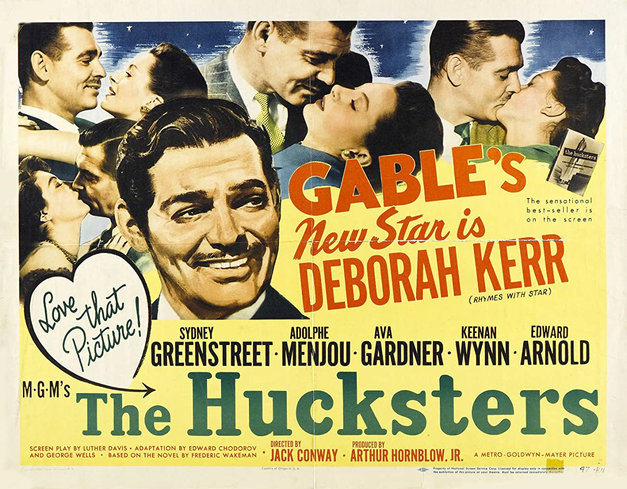 Image result for the hucksters 1947