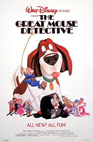 The Great Mouse Detective poster