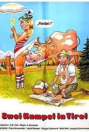 Zwei Kumpel in Tirol Poster