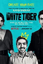 The White Tiger (2021) poster