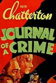 Journal of a Crime (1934) Poster - Movie Forum, Cast, Reviews