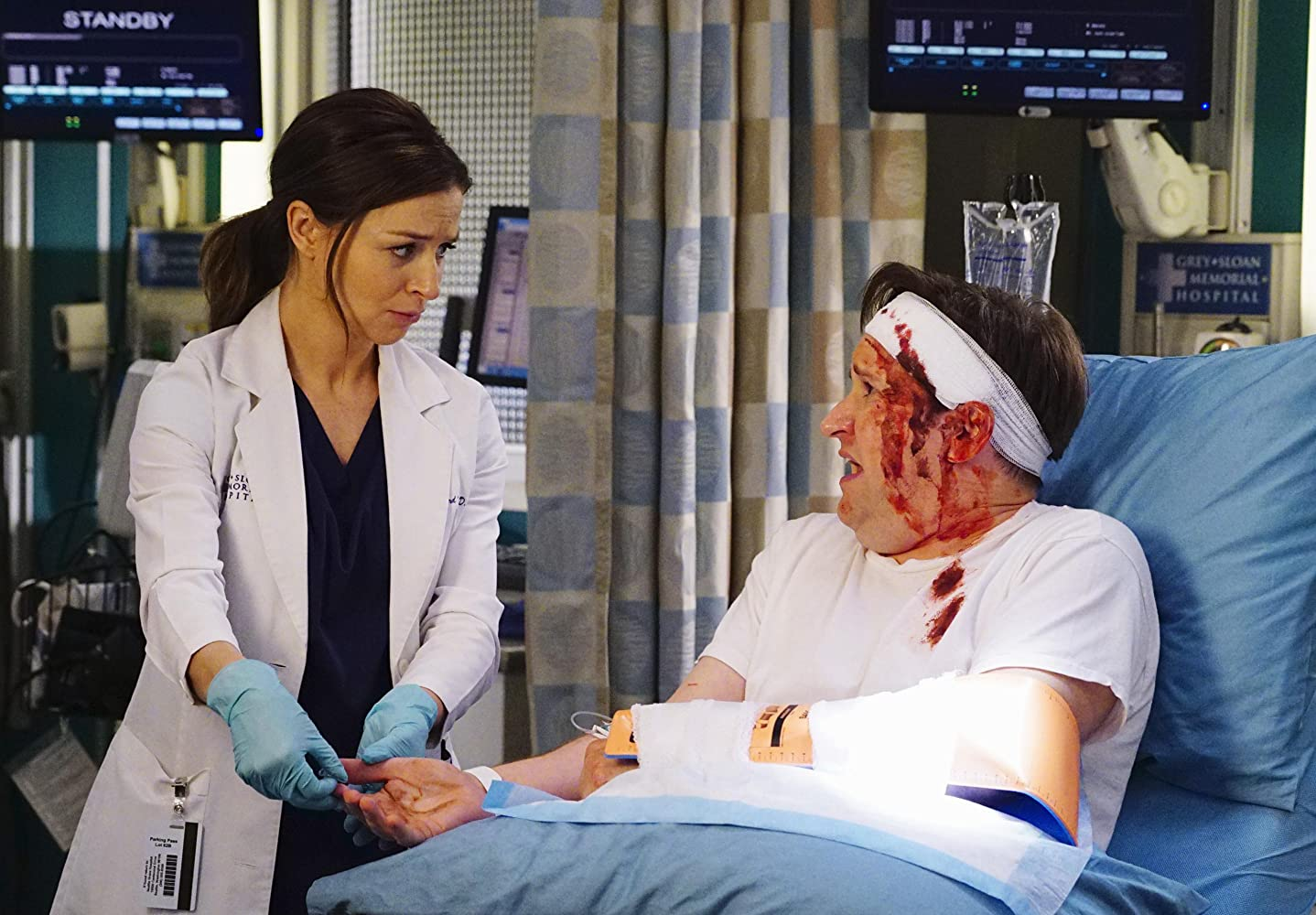 Grey's Anatomy S14E04 – Ain't That a Kick in the Head, serial online subtitrat în Română