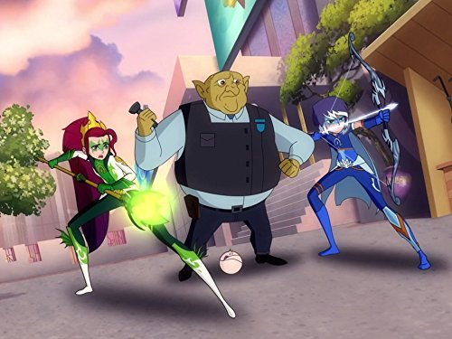 new animated series review posiel