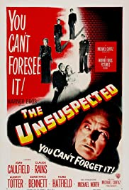 The Unsuspected (1947) Poster - Movie Forum, Cast, Reviews
