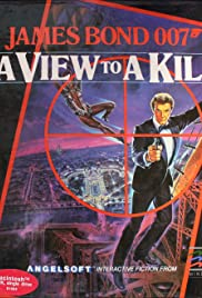 James Bond 007: A View to a Kill Poster
