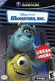 Monsters, Inc. Scream Arena Poster