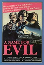 A Name for Evil (1973) Poster - Movie Forum, Cast, Reviews