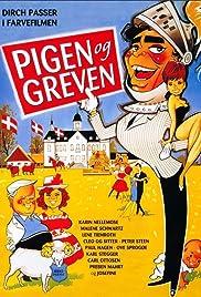 Pigen og greven Poster