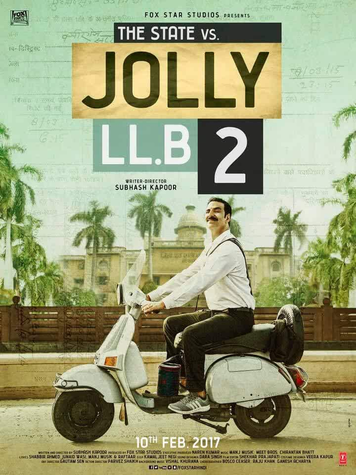 Jolly LLB 2 (2016) Full Movie Official Trailer Watch Online Download Free