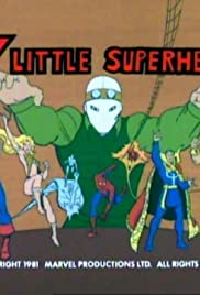 7 Little Superheroes Poster