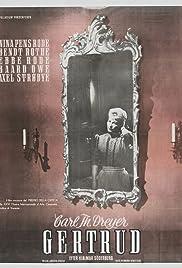 Gertrud(1964) Poster - Movie Forum, Cast, Reviews