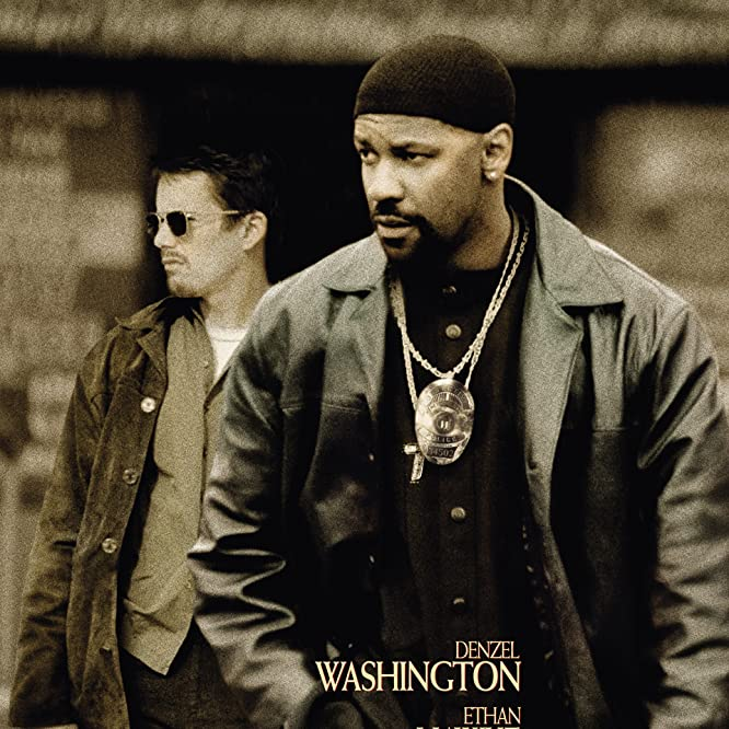 Ethan Hawke and Denzel Washington in Training Day (2001)