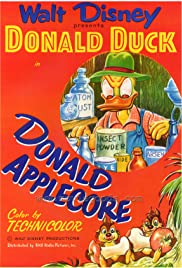 Donald Applecore Poster