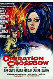 Operation Crossbow (1965) Poster - Movie Forum, Cast, Reviews