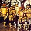 Corey Feldman, Jim Henson, Josh Pais, Robbie Rist, and Brian Tochi in Teenage Mutant Ninja Turtles (1990)