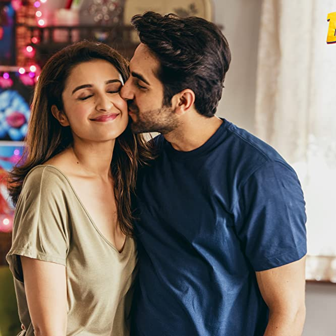 Parineeti Chopra and Ayushmann Khurrana in Meri Pyaari Bindu (2017)
