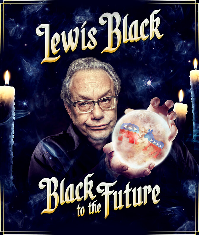 image Lewis Black: Black to the Future (2016) (TV) Watch Full Movie Free Online