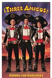 ¡Three Amigos! Poster