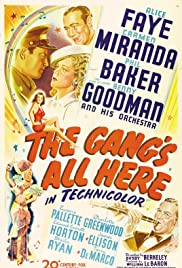 The Gang's All Here (1943) Poster - Movie Forum, Cast, Reviews