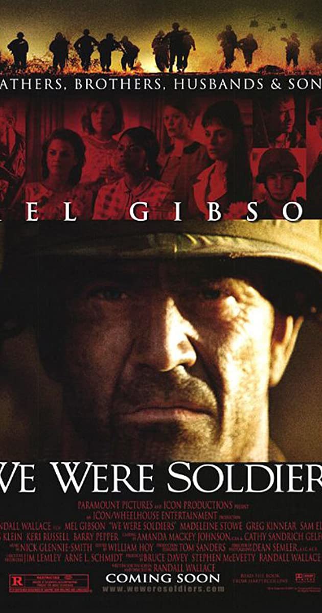 we were soldiers mel gibson quotes