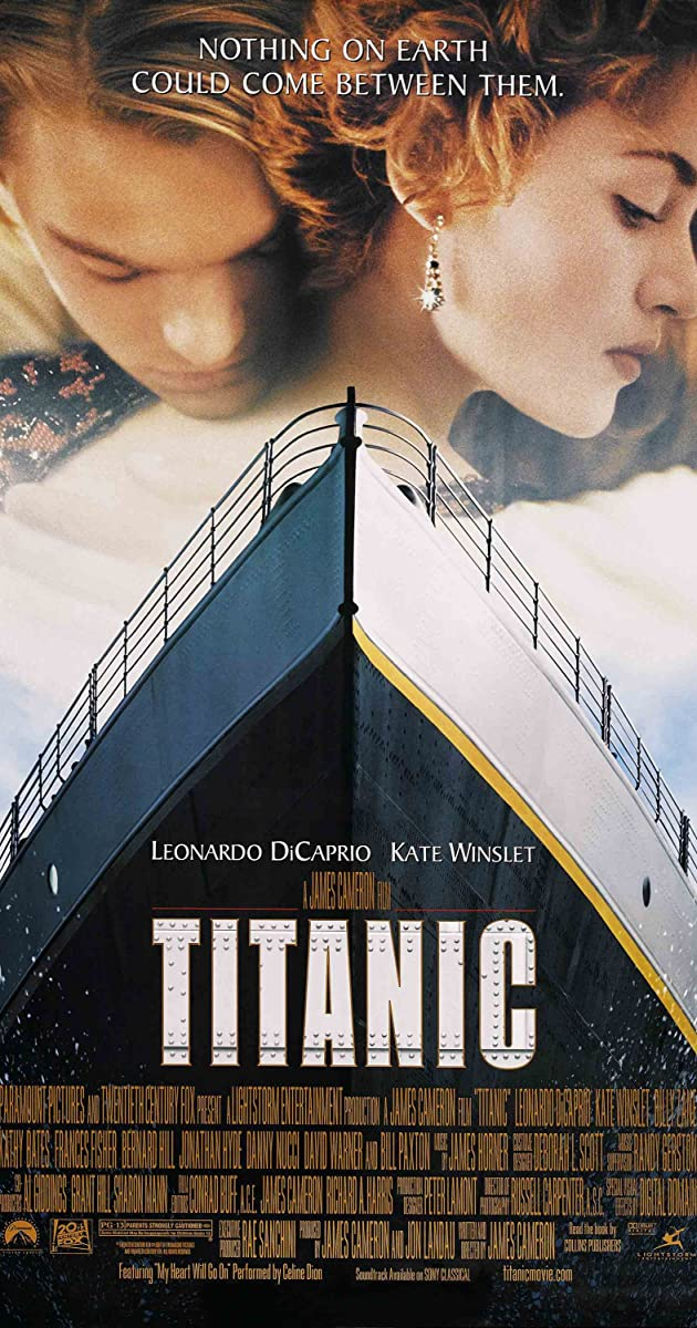 titanic plot summary imdb