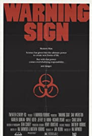 Warning Sign (1985) Poster - Movie Forum, Cast, Reviews