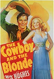 The Cowboy and the Blonde Poster