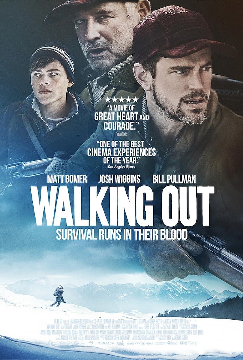 Pavojinga medžioklė / Walking Out (2017)