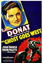 The Ghost Goes West Poster