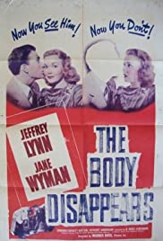 The Body Disappears Poster