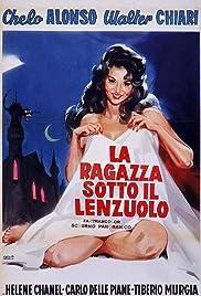 Girl Under the Sheet Poster