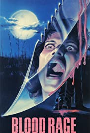 Blood Rage (1987) Poster - Movie Forum, Cast, Reviews