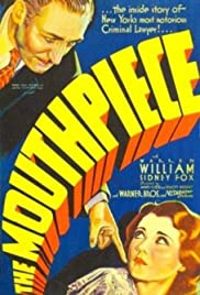 The Mouthpiece (1932) Poster - Movie Forum, Cast, Reviews