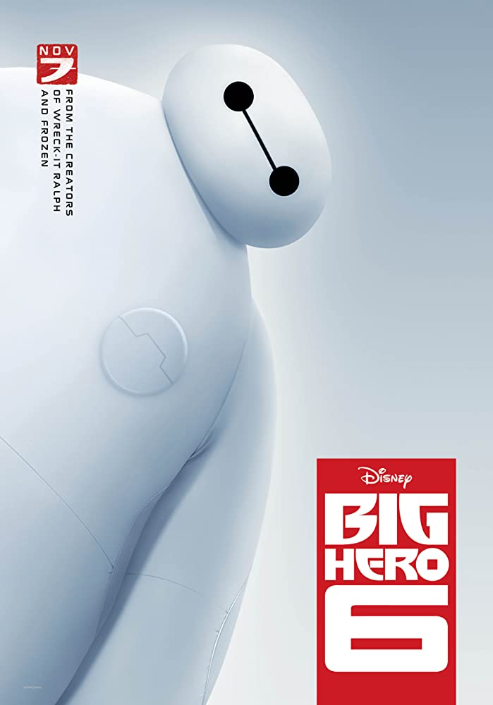 Big Hero 6 (2014) Cover