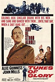 Tunes of Glory (1960) Poster - Movie Forum, Cast, Reviews
