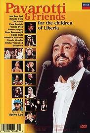 Pavarotti & Friends for the Children of Liberia Poster