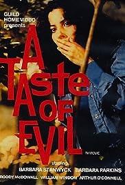 A Taste of Evil(1971) Poster - Movie Forum, Cast, Reviews