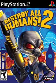 Destroy All Humans! 2 Poster