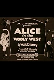 Alice in the Wooly West Poster