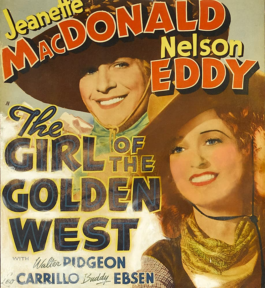 Image result for The Girl of the GOlden West 1938